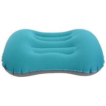 Inflatable Camping Pillow Hand-pressed Inflatable Travel Pillow Foldable Waterproof Pillow Compressible