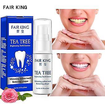 Tea Tree Tänder Blekning Essence Pulver Tänder Blekning Tandkräm
