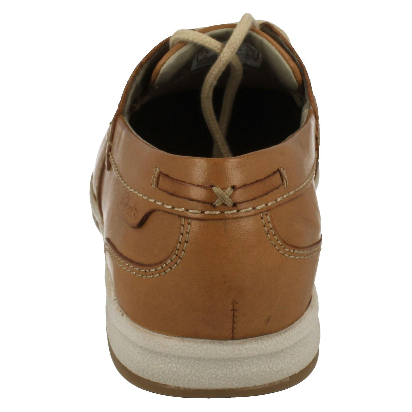 Mens Clarks Mocassin Style Lace Up Chaussures Fallston