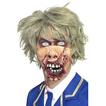 Maska na prohnilou ústa Halloween maska prohnilá ústa hrůza