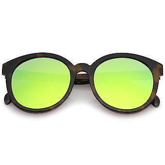 Негабаритных супер плоские цветные Зеркало объектива круглые очки 54 мм