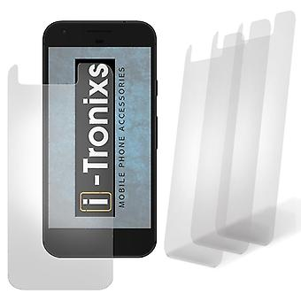 i-Tronixs BlackBerry Leap Screen Protectors With Polish Cloth - 3 Pack