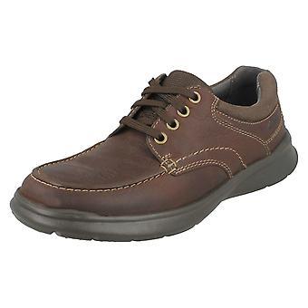 Mens Clarks Casual schoenen Cotrell rand