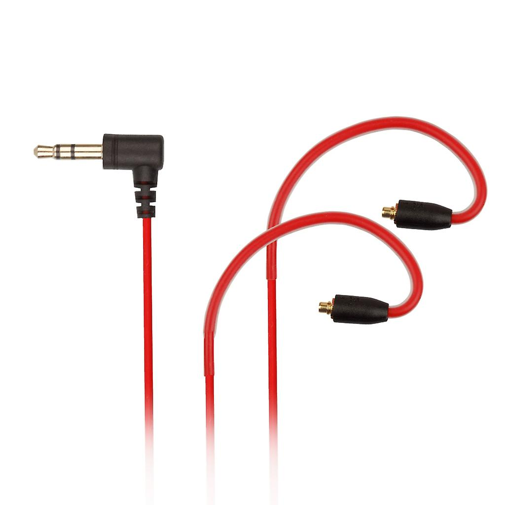 REYTID Replacement Red 5N Audio Cable Compatible with Sony XBA-N1AP HD Earphones MMCX Headphones - Compatible with iPhone and Android