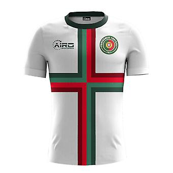 2020-2021 Portugal Away Concept Jalkapallopaita - Naisten