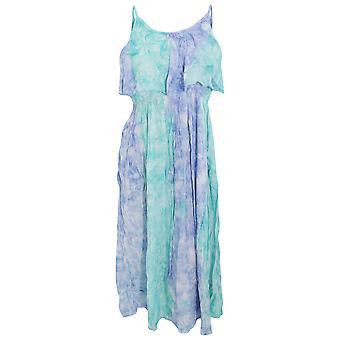 レディース/レディース パステル ネクタイ色素ストラップ夏ドレス