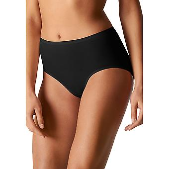Mey 29818-3 Women's Organic Black Solid Colour Knickers Panty Brief