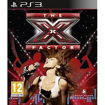 X-Factor Solus (PS3)-ny