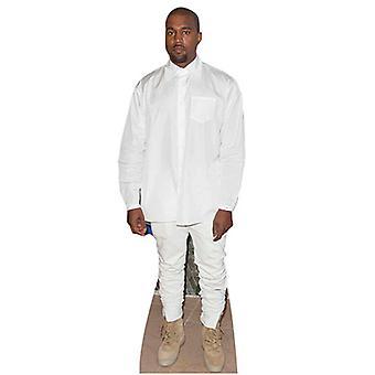 Kanye West livet størrelse papp åpning