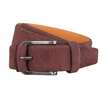 OTTO KERN belts men's belts leather belt suede Purple/Purple 2972
