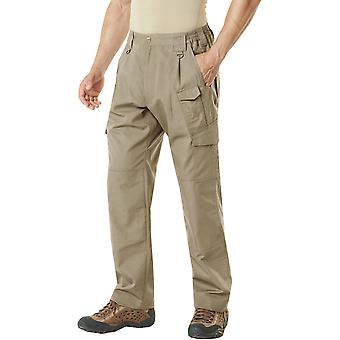 CQR TLP-105 Lightweight Ripstop EDC Tactical Assault Cargo Pants - Khaki