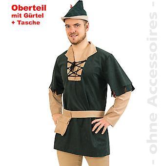 Robin Hood Herrenkostüm Gesetzloser Vagabund Herren Kostüm