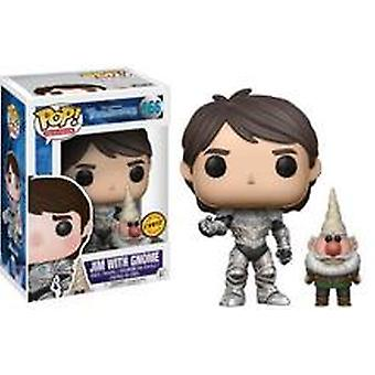 Troll Hunters Jim gnome Chase Edition Funko Pop! Vinyyli