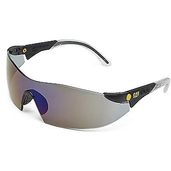 Caterpillar Mens Dozer Protective Workwear Wraparound Safety Glasses Smoke Grey