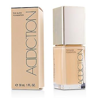 Addiction The Glow Foundation Spf 20 - # 004 (ivory Rose) - 30ml/1oz