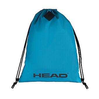 CABEÇA espírito ginásio saco saco mochila lazer bolsa de ombro néon azul 7449