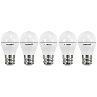 5 x Sylvania ToLEDo Ball Dimmable E27 V3 5.6W Homelight LED 470lm [Energy Class A+]