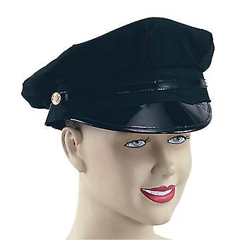 Bnov Peaked Hat Black, Chauffeur