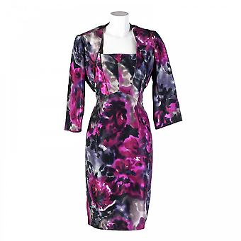 Michaela Louisa Structured Floral Dress And Jacket