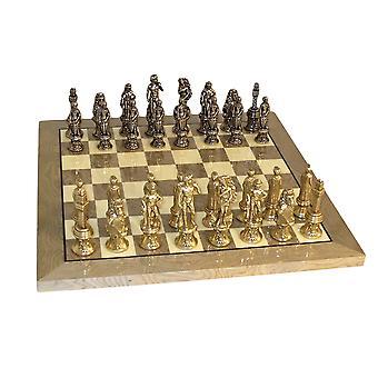 Florence Doucheset grijs Briar schaakbord