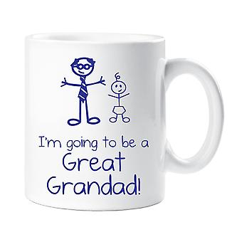 I'm Going To Be A Great Grandad Mug