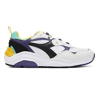 Diadora Whizz Run Mens White / Purple Trainers