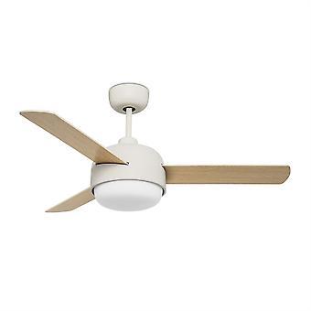 Klar stål tak Fan lys Fixture - LED-C4 30-4864-16-F9