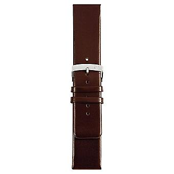 Morellato black leather strap unisex LARGE Brown 20 mm A01X3076875032CR30