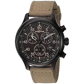 Timex TW4B102009J armbåndsur, Beige/svart