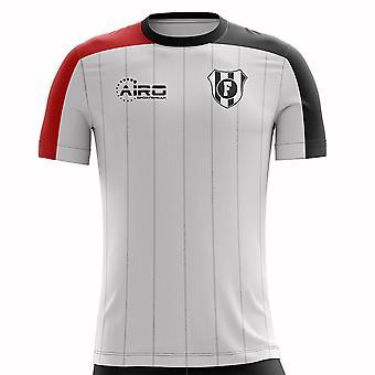 2020-2021 Fulham Home Concept Koszulka piłkarska
