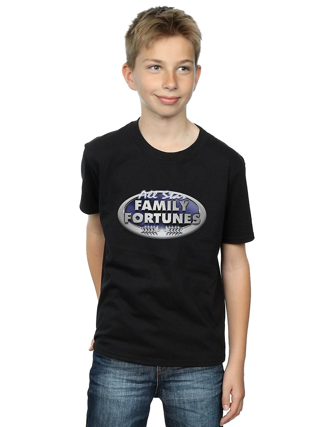 Family Fortunes Boys All Star Logo T-Shirt