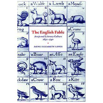 Englanti Fable Aisopos ja Lutherin 1651 1740 jäseneltä Lewis & Jayne Elizabeth