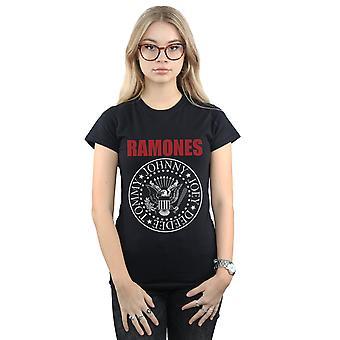 Ramones roter Text Dichtung Frauenunterhemde