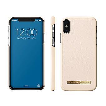 iDeal von Schweden iPhone X/XS Saffiano Shell-Beige
