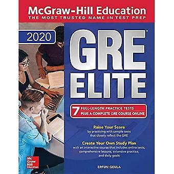 McGraw-Hill onderwijs GRE Elite 2020