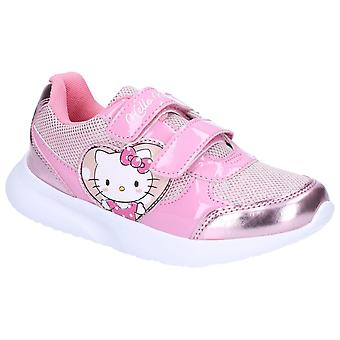 Leomil Girls Hello Kitty Touch Fastening Trainers