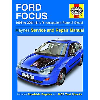 Ford Focus Owners Workshop Manual by Anon - 9781785213236 Book