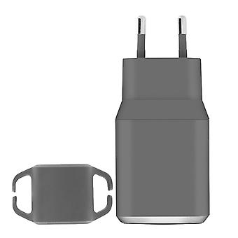 2 Port USB Power Charger (2.4 x 2.4A) Force Power Lifetime Warranty - Grey