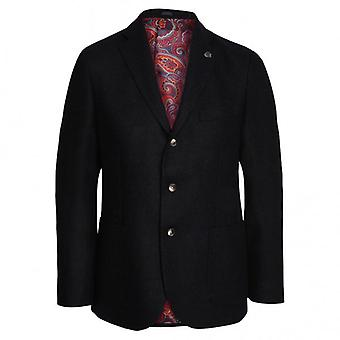 Duchamp of London Shetland Twill Blazer, Navy