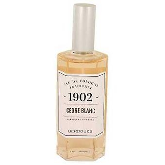 1902 Cedre Blanc By Berdoues Eau De Cologne Spray (unboxed) 4.2 Oz (women) V728-537854