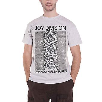 Joy Division T Shirt Unknown Pleasures new Official Mens Grey