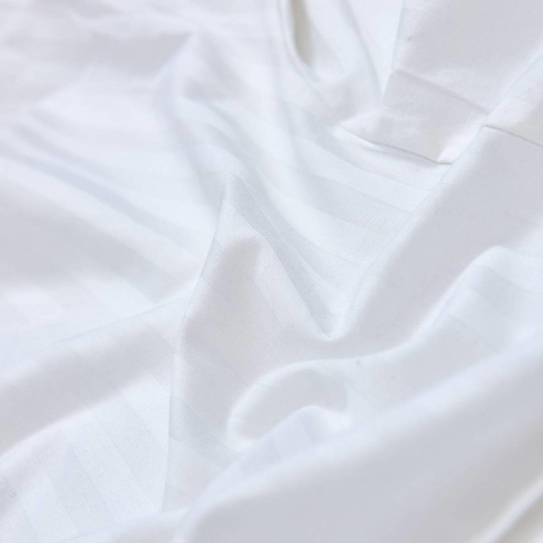 Beckasin Kroppskudde Gravidkudde Estelle Vit Bomullssatin
