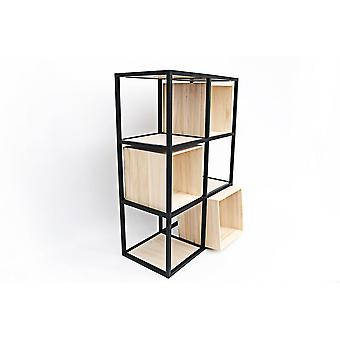Wire Frame Shelf Storage 81x55cm fort et agréable