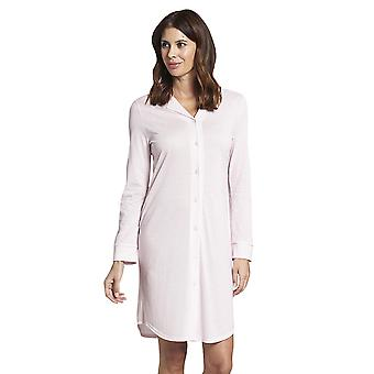 Rösch 1193719-14706 Women's Pure Pink Minimal Print Cotton Nightdress