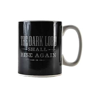 Harry Potter Mug Dark Lord Shall Rise Again Heat Changing Official White Boxed