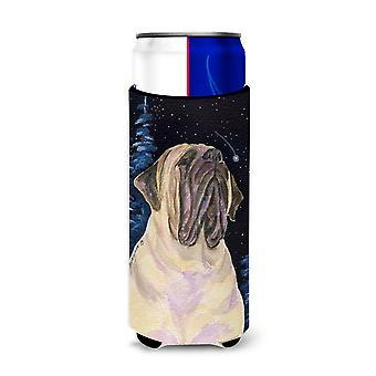 Estrellada noche Mastín Ultra bebidas aisladores para latas de slim SS8448MUK