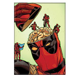 Deadpool patching hjernen magnet