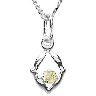 InCollections 5430200007401 - Chain with children's pendant with cubic zirconia - silver sterling 925