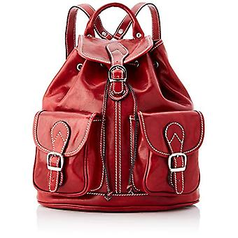 Chicca All Fashion Cbc18777gf22 - Unisex Backpack Adult - Red - 12x35x30 cm (W x H x L)