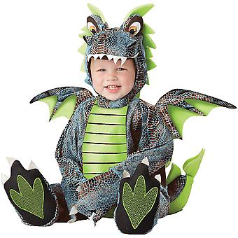 Multicolor Dragon Toddlers Costume